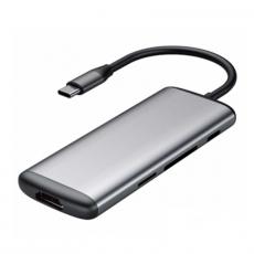 Хаб Xiaomi HAGiBiS, с USB-C к HDMI, серый, фото 1