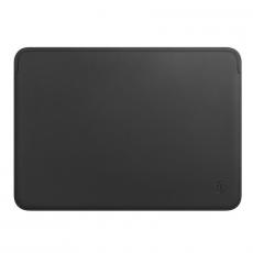 Чехол кожаный WIWU Skin Pro для MacBook Pro 15, черный, фото 1