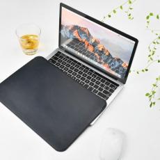 Чехол кожаный WIWU Skin Pro для MacBook Pro 15, черный, фото 3