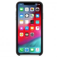 Чехол Apple кожаный для iPhone XS Max, чёрный, фото 2
