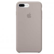 Чехол Apple силиконовый для iPhone  8/7 Plus, морская галька, фото 1
