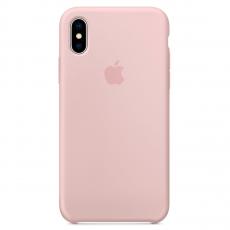 """Чехол Apple силиконовый для iPhone XS Max, """"розовый песок"""", фото 1"""
