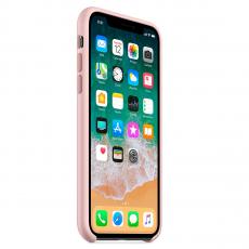 """Чехол Apple силиконовый для iPhone XS Max, """"розовый песок"""", фото 3"""