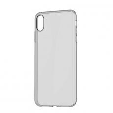Чехол Baseus Simplicity Series для iPhone Xs, прозрачный черный, фото 1