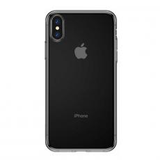Чехол Baseus Simplicity Series для iPhone Xs, прозрачный черный, фото 3