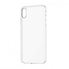 Чехол-накладка Baseus Simplicity Series для iPhone Xs Max, полиуретан, прозрачный, фото 1