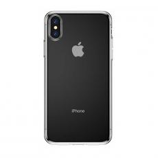 Чехол-накладка Baseus Simplicity Series для iPhone Xs Max, полиуретан, прозрачный, фото 2