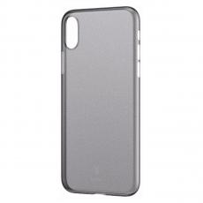Чехол Baseus wing для iPhone XS Max, прозрачный чёрный, фото 1