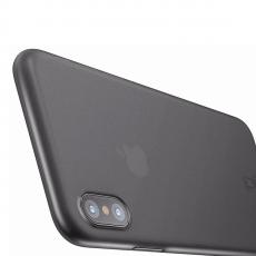 Чехол Baseus wing для iPhone XS Max, прозрачный чёрный, фото 3