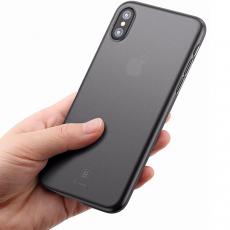 Чехол Baseus wing для iPhone XS Max, прозрачный чёрный, фото 2