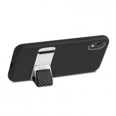 Чехол Moshi Capto с ремешком MultiStrap для iPhone XR, чёрный, фото 3