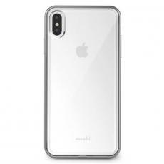 Чехол Moshi Vitros для iPhone XS Max, прозрачный/серебристый, фото 1