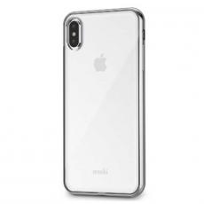 Чехол Moshi Vitros для iPhone XS Max, прозрачный/серебристый, фото 2