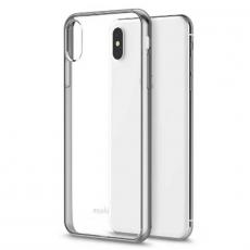 Чехол Moshi Vitros для iPhone XS Max, прозрачный/серебристый, фото 3