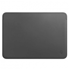 Чехол кожаный WIWU Skin Pro для MacBook Pro 15, серый, фото 1
