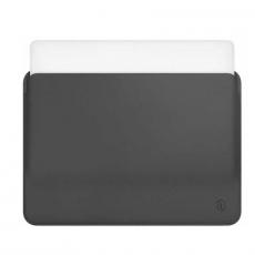 Чехол кожаный WIWU Skin Pro для MacBook Pro 15, серый, фото 2