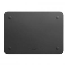 Чехол кожаный WIWU Skin Pro для MacBook Pro 15, серый, фото 3