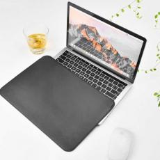 Чехол кожаный WIWU Skin Pro для MacBook Pro 15, серый, фото 4