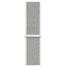 """Apple Watch Series 4, 40 мм, корпус из алюминия серебристого цвета, спортивный браслет цвета """"белая ракушка"""", фото 3"""