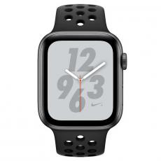 """Apple Watch Nike+, 44 мм, Series 4, корпус из алюминия цвета """"серый космос"""", спортивный ремешок Nike цвета """"антрацитовый/чёрный"""", фото 2"""