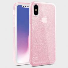 Чехол Uniq Clarion Tinsel для iPhone XS Max, розовый, фото 1