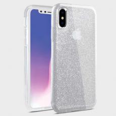 Чехол Uniq Clarion Tinsel для iPhone XS Max, прозрачный, фото 1
