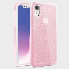 Чехол Uniq Clarion Tinsel для iPhone XR, розовый, фото 1