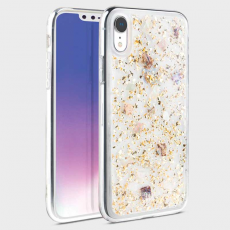 Чехол Uniq Lumence для iPhone XR, золотистый, фото 1