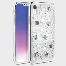 Чехол Uniq Lumence для iPhone XR, серебристый, фото 1