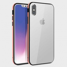 """Чехол Uniq Valencia Clear для iPhone XS Max, """"розовое золото"""", фото 1"""