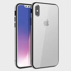 Чехол Uniq Valencia Clear для iPhone XS Max, серебристый, фото 1