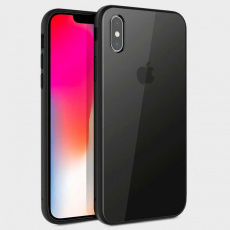Чехол Uniq Valencia Clear для iPhone XS Max, тёмно-серый, фото 1