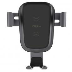 Беспроводная зарядка-автодержатель Zikko, чёрный, фото 2