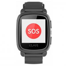 Детские умные часы Elari KidPhone 2, черный, фото 3