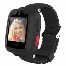 Детские умные часы Elari KidPhone 3G (с Алисой), чёрный, фото 3