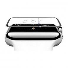Защитная стекло COTEetCI для Apple Watch 4, Full Glue Glass, 44 мм, чёрный, фото 1