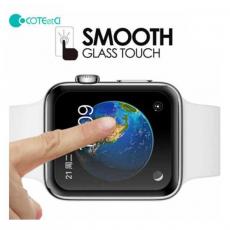 Защитная стекло COTEetCI для Apple Watch 4, Full Glue Glass, 44 мм, чёрный, фото 2