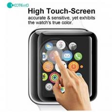 Защитная стекло COTEetCI для Apple Watch 4, Full Glue Glass, 44 мм, чёрный, фото 3