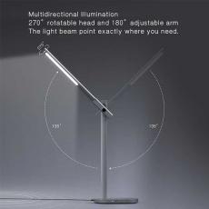 Лампа с беспроводной зарядкой Momax, серебристый, фото 2