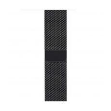 Миланский сетчатый браслет для Apple Watch 44 мм, чёрный, фото 1