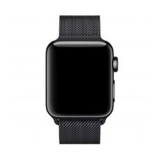 Миланский сетчатый браслет для Apple Watch 44 мм, чёрный, фото 3