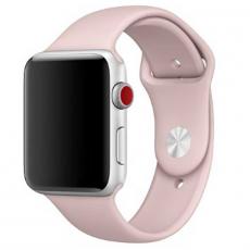 Ремешок Apple спортивный для Apple Watch 44 мм, SM/ML, розовый песок, фото 1