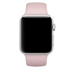 Ремешок Apple спортивный для Apple Watch 44 мм, SM/ML, розовый песок, фото 3