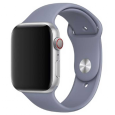Ремешок Apple спортивный для Apple Watch 44 мм, SM/ML, тёмная лаванда, фото 2