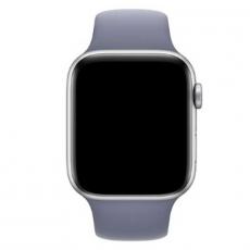 Ремешок Apple спортивный для Apple Watch 44 мм, SM/ML, тёмная лаванда, фото 3