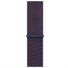 Ремешок Apple спортивный для Apple Watch 44 мм, тёмный индиго, фото 1