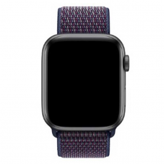 Ремешок Apple спортивный для Apple Watch 44 мм, тёмный индиго, фото 3