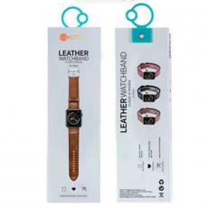 Ремешок COTEetCI W33 для Apple Watch 42/44mm, коричневый, фото 3