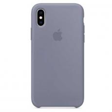 """Чехол-накладка Apple для iPhone X, силикон, """"тёмная лаванда"""", фото 1"""