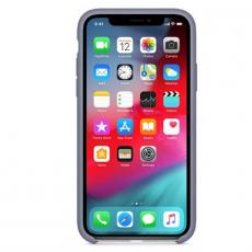 """Чехол-накладка Apple для iPhone X, силикон, """"тёмная лаванда"""", фото 2"""